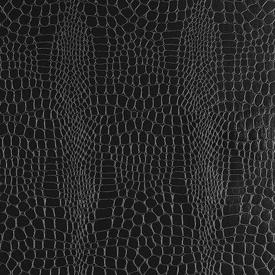 Schumacher Wallcovering - 5005834-Crocodile - Jet