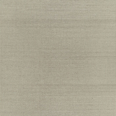 Schumacher Wallcovering - 5006162-Harshaw Pinstripe Sisal - Fog