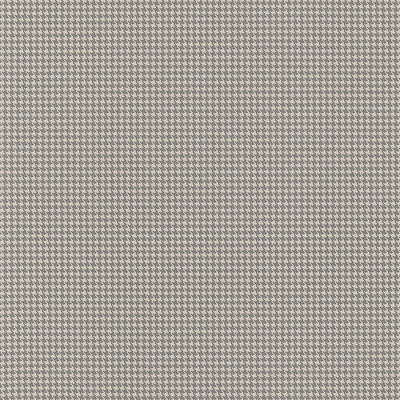 Schumacher Wallcovering - 5006191-Huston Houndstooth - Oxford Grey