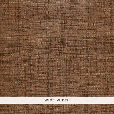 Schumacher Wallcovering - 5006202-Weston Raffia Weave - Sable