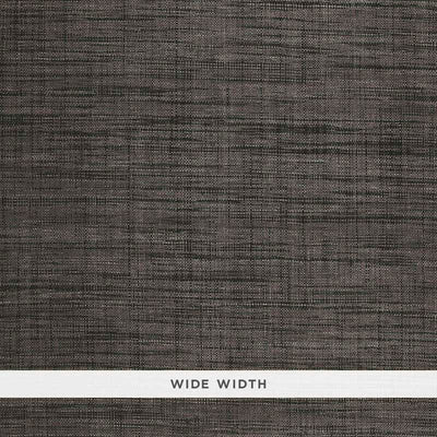 Schumacher Wallcovering - 5006204-Weston Raffia Weave - Charcoal