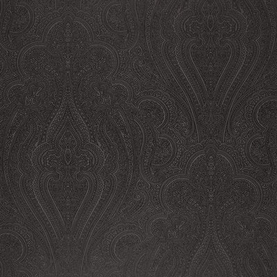 Schumacher Wallcovering - 5006243-Breckenridge Paisley - Charcoal