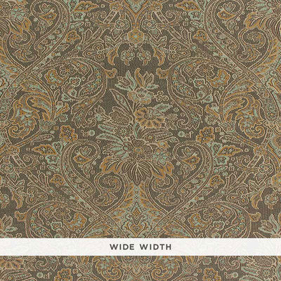 Schumacher Wallcovering - 5006250-Sinclair Paisley - Java