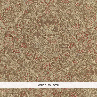 Schumacher Wallcovering - 5006251-Sinclair Paisley - Vicuna