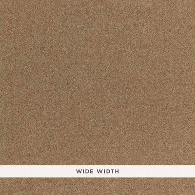 Schumacher Wallcovering - 5006291-Chester Wool Sidewall - Tabac