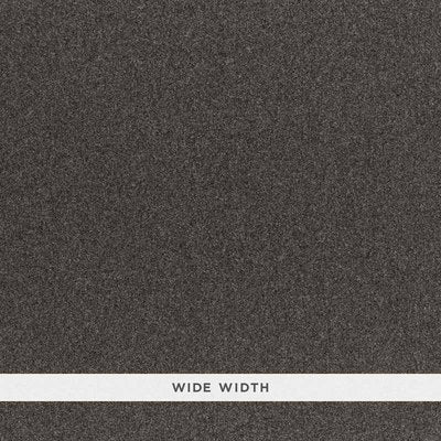 Schumacher Wallcovering - 5006295-Chester Wool Sidewall - Charcoal