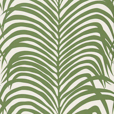Schumacher Wallcovering - 5006931-Zebra Palm - Jungle