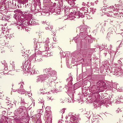 Schumacher Wallcovering - 5007001-Chinois - Peony