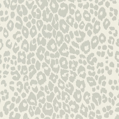 Schumacher Wallcovering - 5007013-Iconic Leopard - Cloud