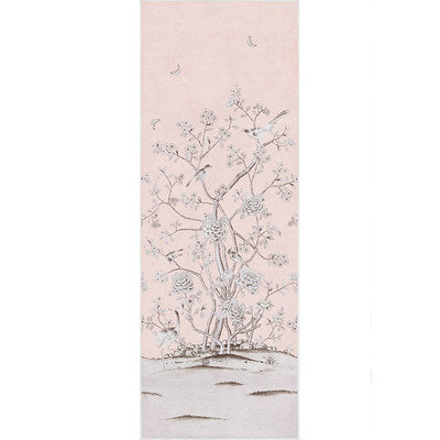 Schumacher Wallcovering - 5007121-Chinois Palais - Blush Conch