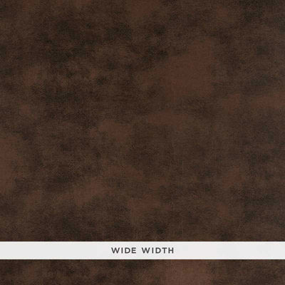 Schumacher Wallcovering - 5007391-Sueded Leather - Cordovan