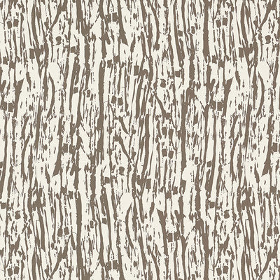 Schumacher Wallcovering - 5007472-Tree Texture - Mocha