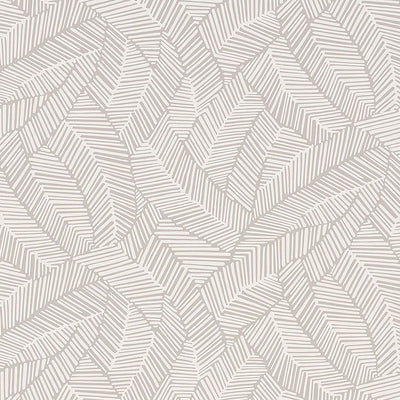 Schumacher Wallcovering - 5007531-Abstract Leaf - Dove