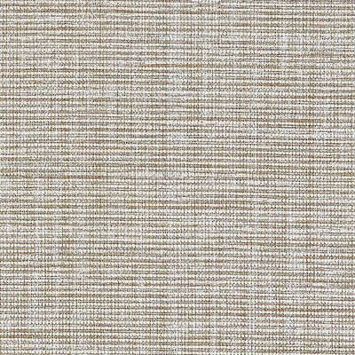 Schumacher Wallcovering - 5007781-Anodized Raffia - Warm Silver