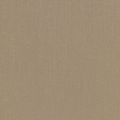 Schumacher Wallcovering - 5007848-Gilded Linen - Cocoa & Gold