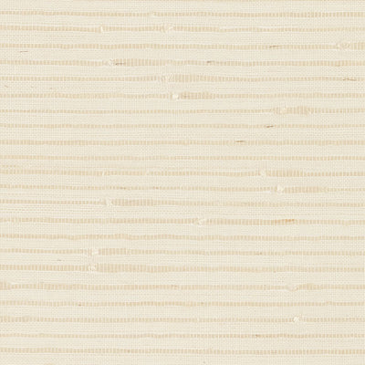 Schumacher Wallcovering - 5007900-Banded Grasscloth - Cream