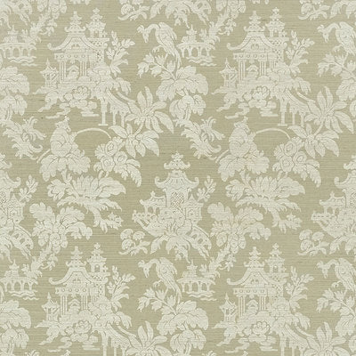 Schumacher Wallcovering - 5008322-Brighton Sisal - Sage