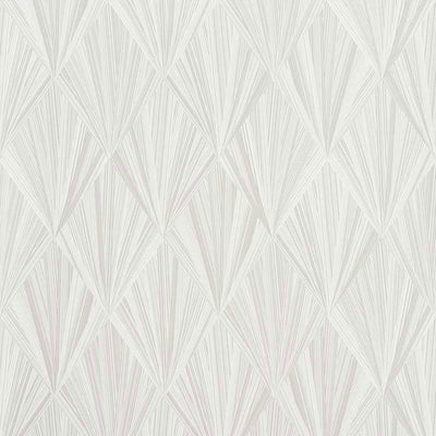 Schumacher Wallcovering - 5008630-Marquetry - Whitewash