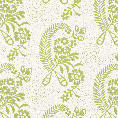 Schumacher Wallcovering - 5008811-Millicent - Leaf
