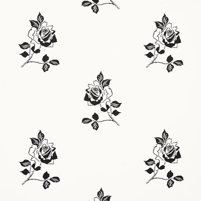 Schumacher Wallcovering - 5008830-Adele - Blackwork