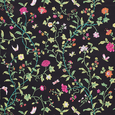 Schumacher Wallcovering - 5009112-Floraison - Jet Multi