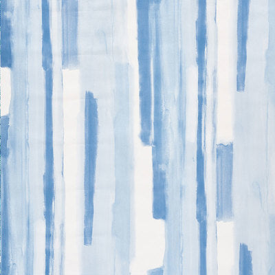 Schumacher Wallcovering - 5009300-Watercolor - Blue