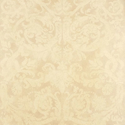 Schumacher Wallcovering - 529110-Pontine Damask - Bone