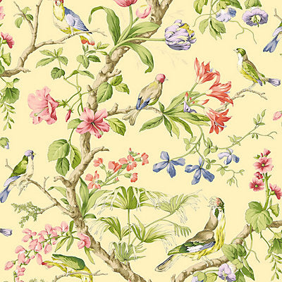 Scalamandre Wallcovering, a selection of wallpaper such as Bird , Animal/Insect,Botanical , Foliage,Floral.