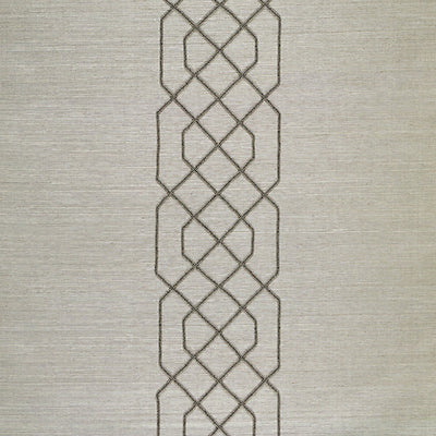 SCALAMANDRE WALLCOVERING-SC 0003WP88385-ADELAIDE BEADED SISAL-PEWTER