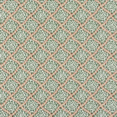 Old World Weavers Wallpaper - BECKFORD  - GREEN