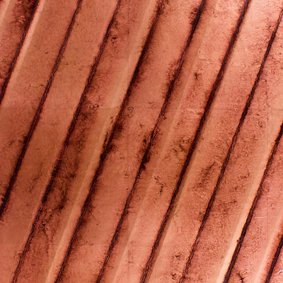 Scalamandre Wallcovering - WLCNOM318B4 - CAVE B (STRIPES LEAN TO RIGHT) - COPPER