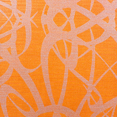 SCALAMANDRE WALLCOVERING-WLCNOM31907-LUXE-ORANGE