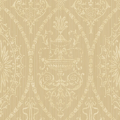 Scalamandre Wallcovering - WMAMF010204 - ADAMS - MID GOLD