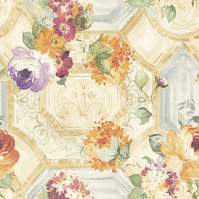 Scalamandre Wallcovering, a selection of wallpaper such as Floral.