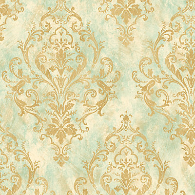 Scalamandre Wallcovering, a selection of wallpaper such as Damask.
