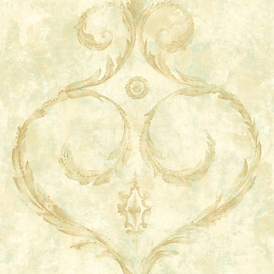 Scalamandre Wallcovering, a selection of wallpaper such as Scrollwork.