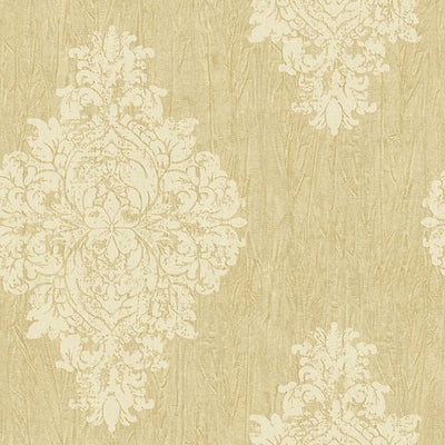 SCALAMANDRE WALLCOVERING-WMAMF050700-BRIGGS-GOLD