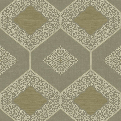SCALAMANDRE WALLCOVERING-WMAMF070616-HOPE-ANTIQUE , GOLD