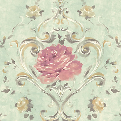 Scalamandre Wallcovering, a selection of wallpaper such as Damask,Floral.