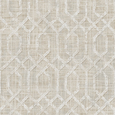 Scalamandre Wallcovering, a selection of wallpaper such as Fretwork , Lattice.
