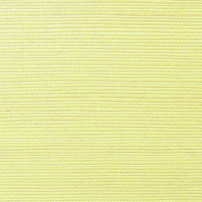 NICOLETTE MAYER WALLCOVERING-WNM0053META-METALLICA GRASSCLOTH-PALE YELLOW