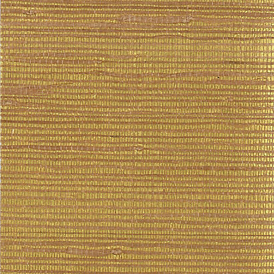 Scalamandre Wallcovering - WPWPMG662 - METAL BACK JUTE - YELLOW / GOLD