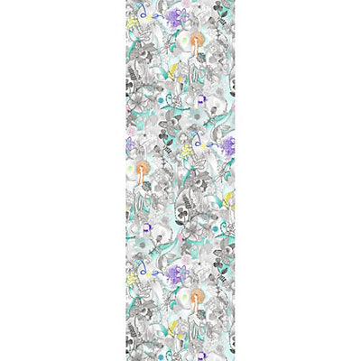 Missoni Home Wallcovering - WRK0094DREA - DREAMLAND PANEL - TURQUOISE MULTI
