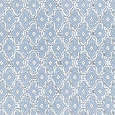 Sandberg Wallcovering - WSB00360424 - VIOLA - LIGHT BLUE