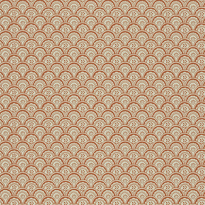 SANDBERG WALLCOVERING-WSB00540402-BEATA-ORANGE,BEIGE