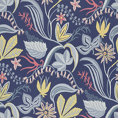 Sandberg Wallcovering - WSB00860419 - SARO - DARK BLUE