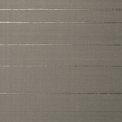 SCALAMANDRE WALLCOVERING-WTT651304-LOST HORIZON SILK-SILVER STONE
