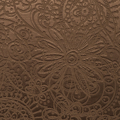 SCALAMANDRE WALLCOVERING-WTT651403-PRINCESS LACE SILKY-CHESTNUT