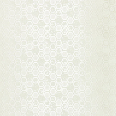 SCALAMANDRE WALLCOVERING-WTT661420-HEXAGON INSPIRATION-IVORY