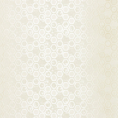 SCALAMANDRE WALLCOVERING-WTT661421-HEXAGON INSPIRATION-BONE